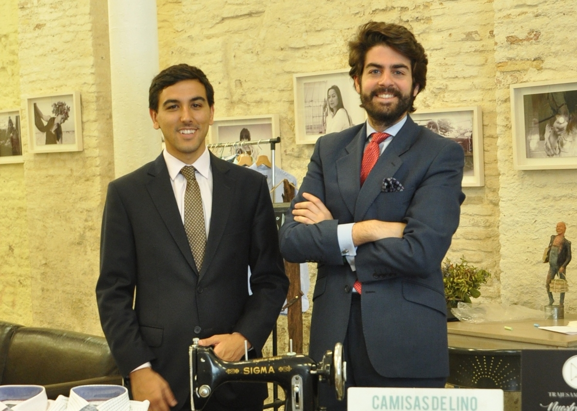 Emprendedores crean una sastrería »online» que ofrece trajes a medida y personalizados