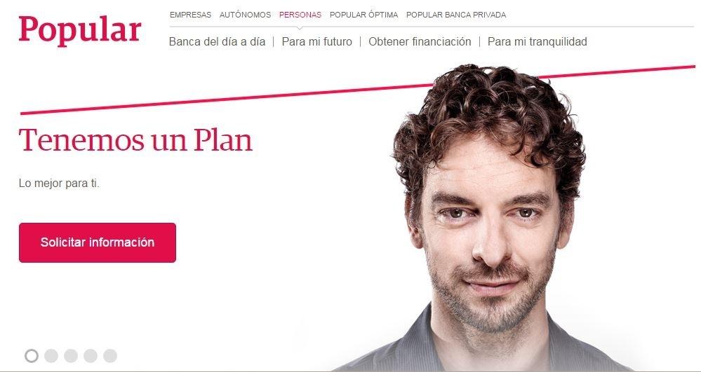 Endesa, Iberia Express, Paradores y El Corte Inglés colaboran con Popular en su estrategia »Tenemos un plan»