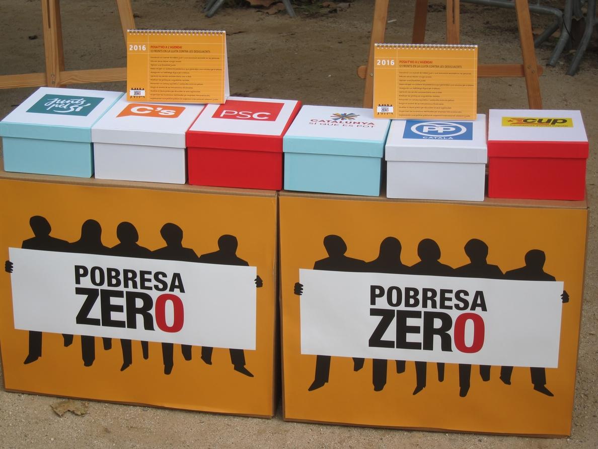 Entidades piden al nuevo Parlament «poner en la agenda» la lucha contra las desigualdades