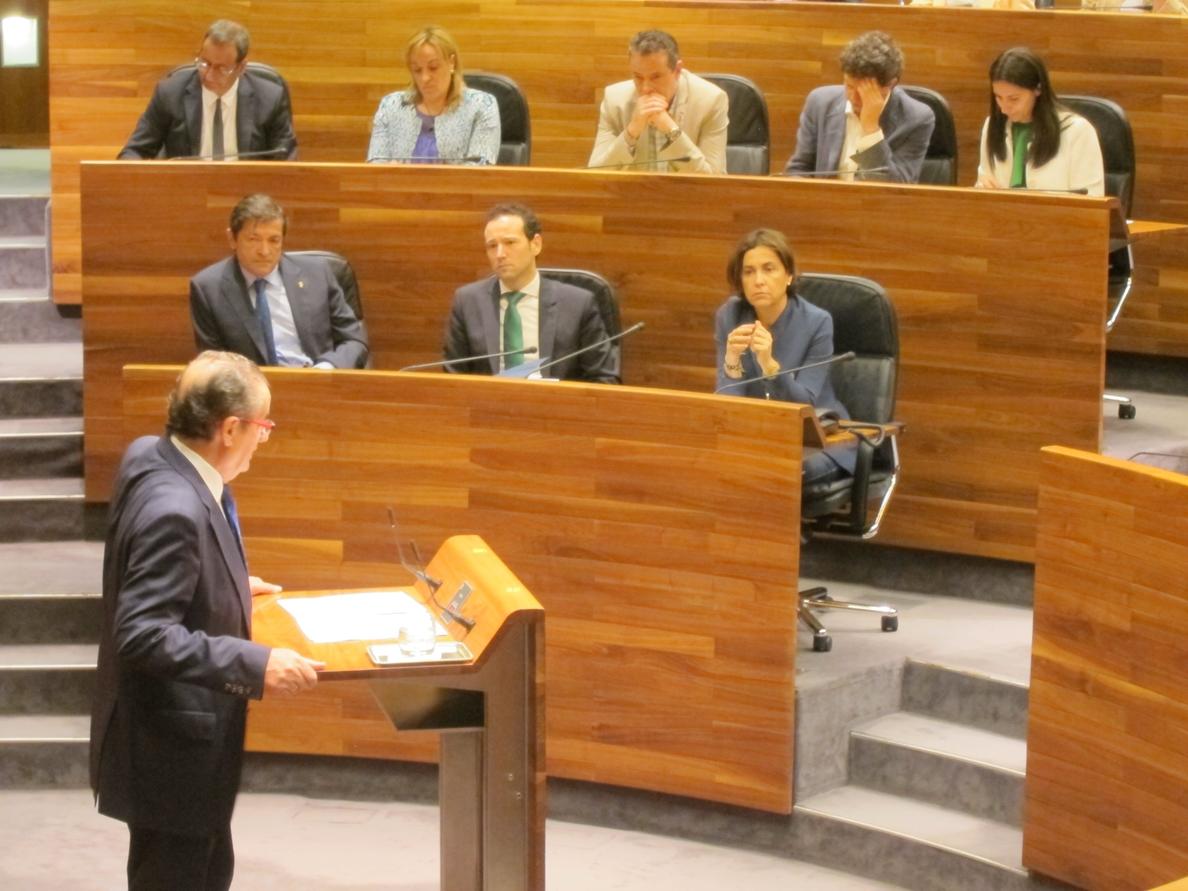 Fernández pide a Ciudadanos que apoye el presupuesto para mejorar las infraestructuras de la Justicia