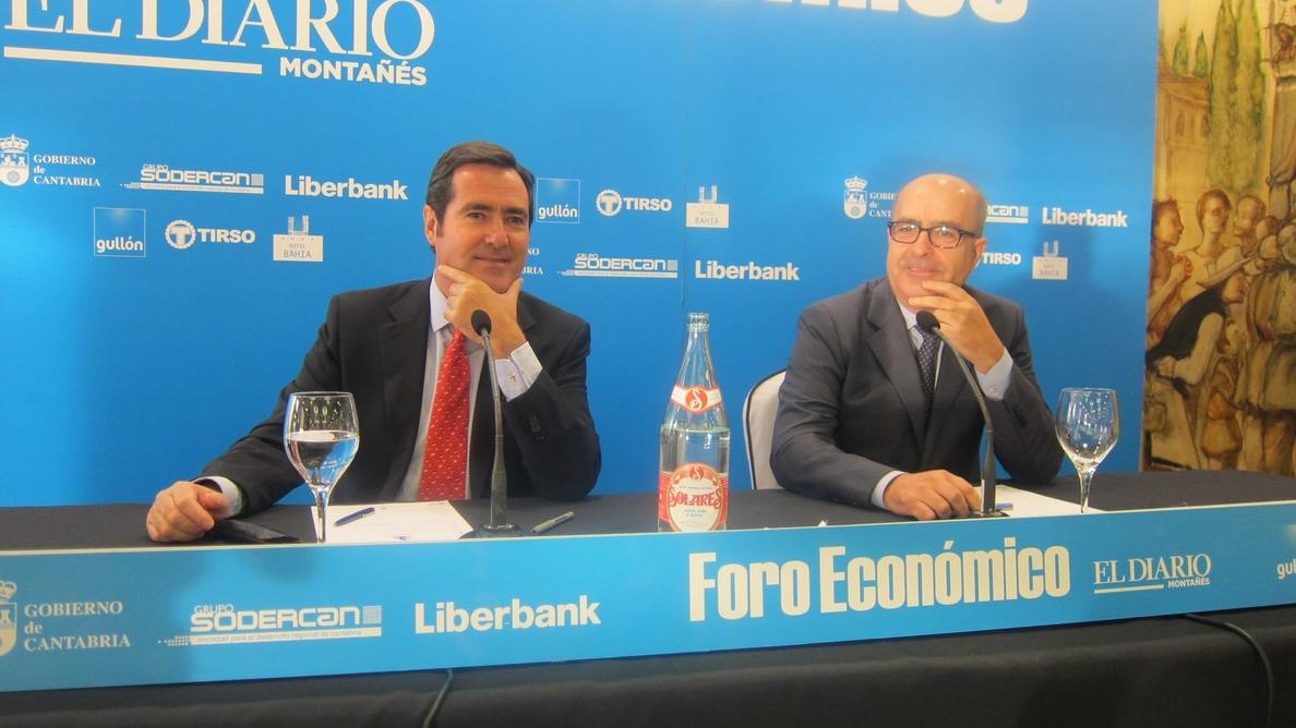 Garamendi defiende la reforma laboral y ve bien que el PSOE quiera pactar los cambios con los agentes sociales