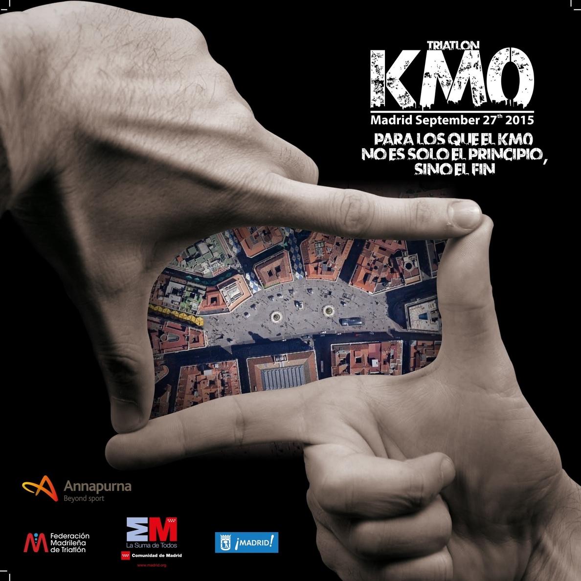 El II Triatlón Madrid KM0 se disputará el 25 de septiembre de 2016