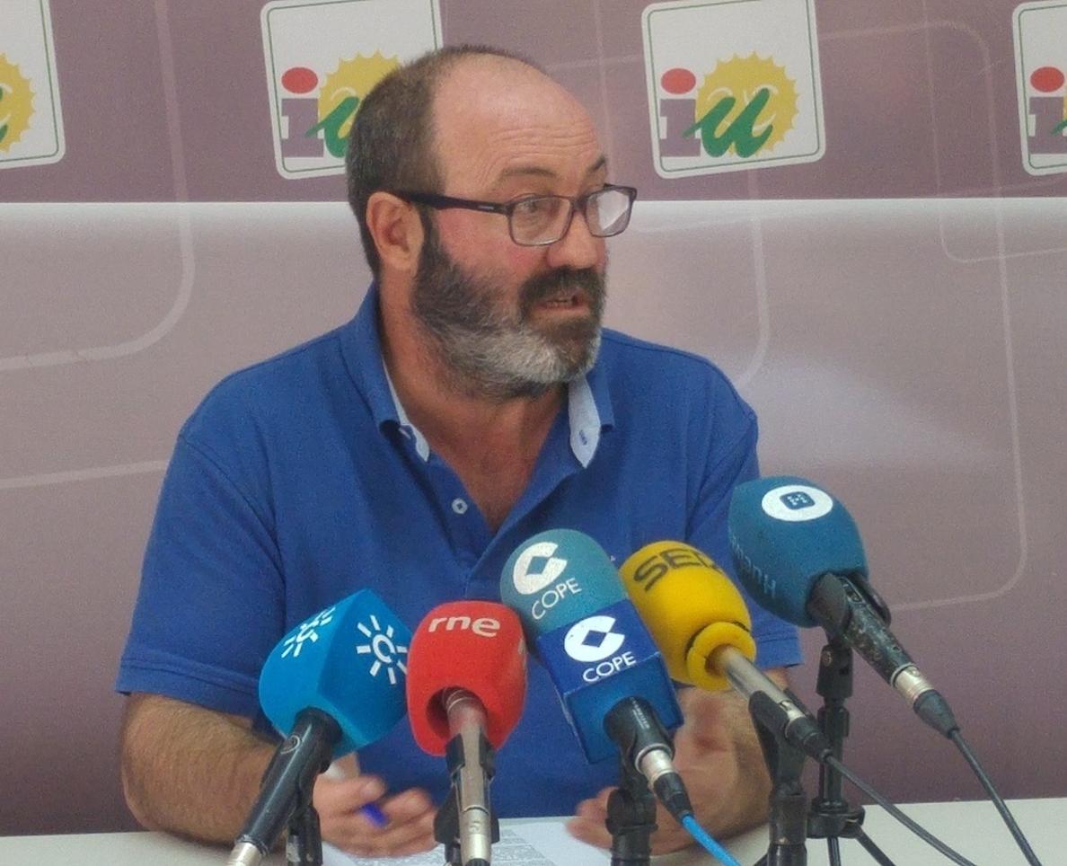 IU pedirá al Ayuntamiento que convoque «una gran manifestación» contra el proyecto de Fertiberia