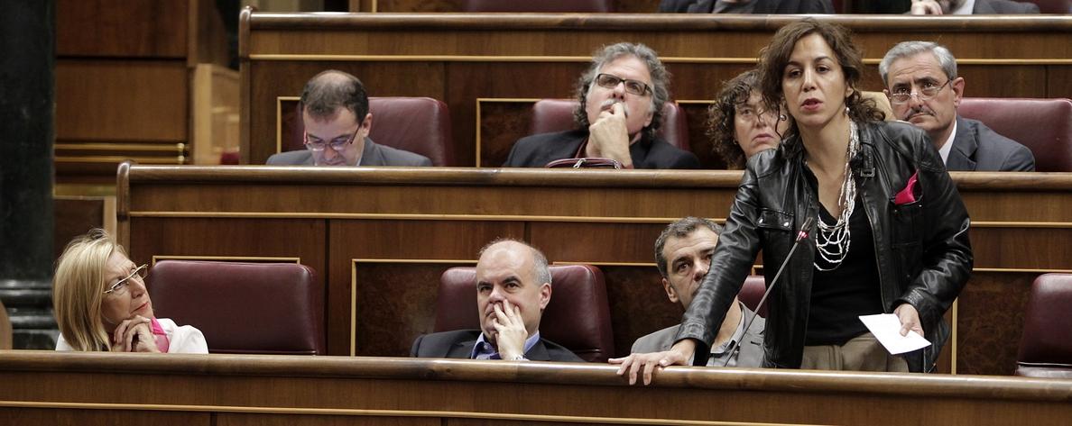 «Indecente», «tránsfuga» o «caradura», algunos calificativos dirigidos a Irene Lozano por dirigentes de UPyD