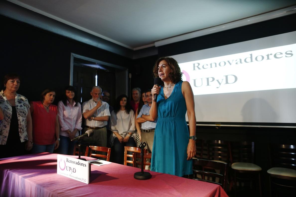 Irene Lozano formaliza su baja en UPyD horas después de anunciarse su fichaje por el PSOE