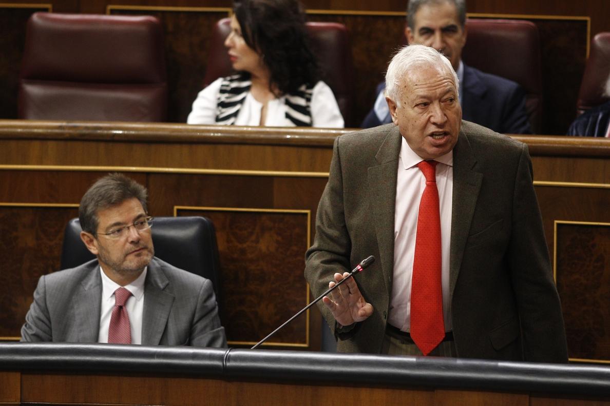 Margallo niega estar «congelado» como le afeó Montoro: «Si eres ágrafo y no lees… He publicado libros todos los años»