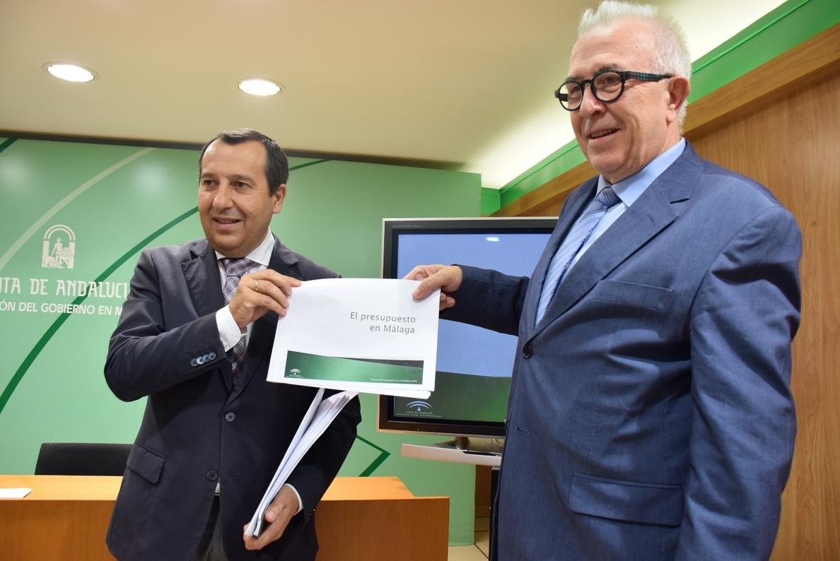 Metro, empleo, aportaciones a los ayuntamientos y políticas sociales centran las cuentas de la Junta para 2016