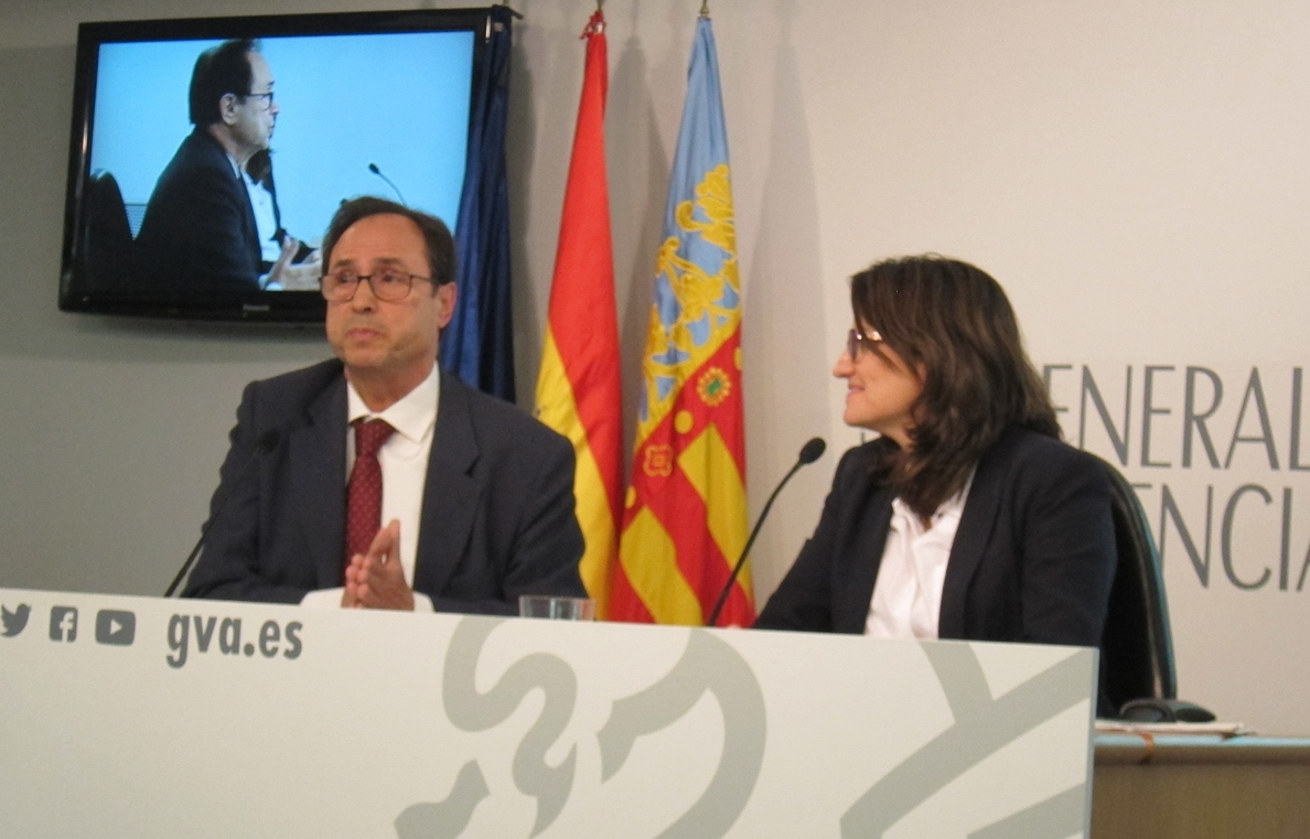 Oltra advierte que irán a los tribunales si Rajoy no dialoga sobre financiación con la Generalitat Valenciana