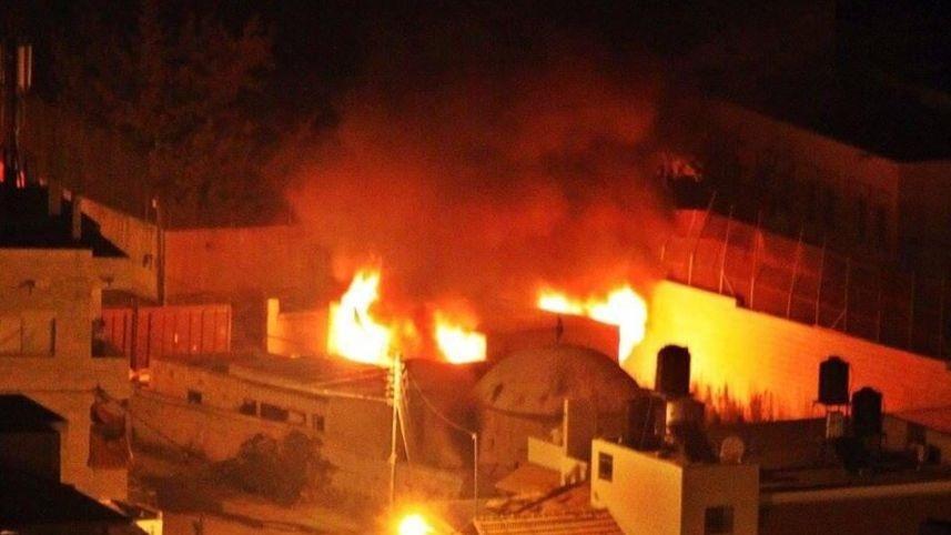 Palestinos incendian la Tumba de José en Cisjordania en el inicio de un nuevo «día de la ira» de Hamás