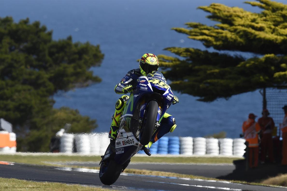 Rossi: «Las sensaciones no han sido del todo malas»