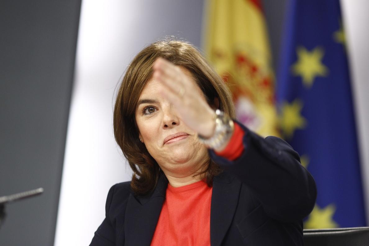 Santamaría, tras el cruce de críticas entre Montoro y Margallo: «No habrá más»