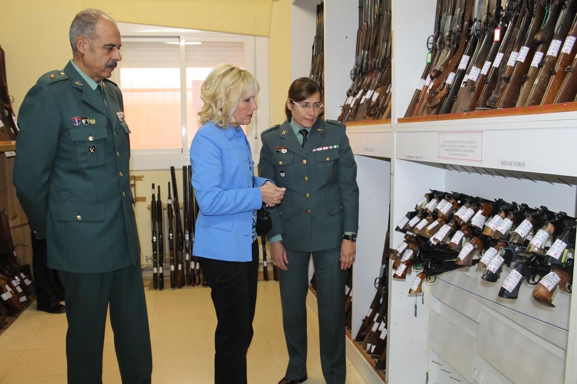 La Subdelegación del Gobierno de Lleida subasta 371 armas de fuego