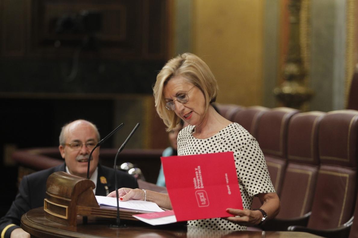 UPyD fuerza una votación en el Congreso para garantizar el castellano sin restricciones en comunidades bilingües