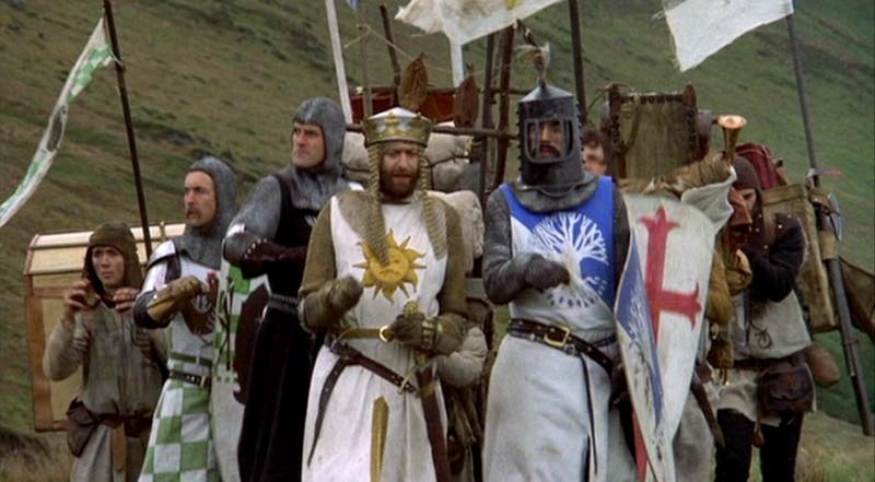»Los caballeros de la mesa cuadrada» de Monty Python vuelve a los cines en su 40ª aniversario