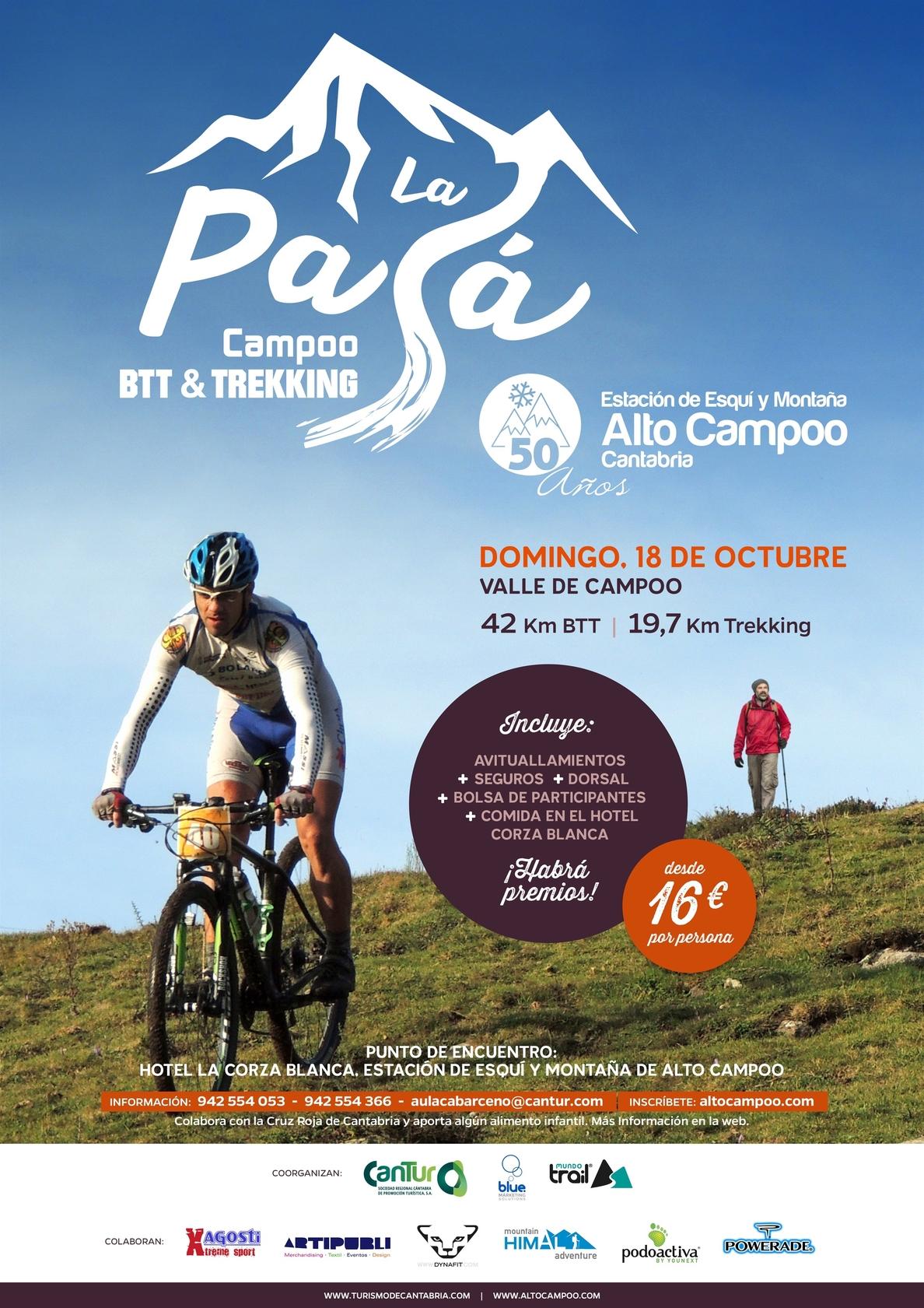 Casi 200 deportistas participarán el domingo en »La Pasá» de Alto Campoo