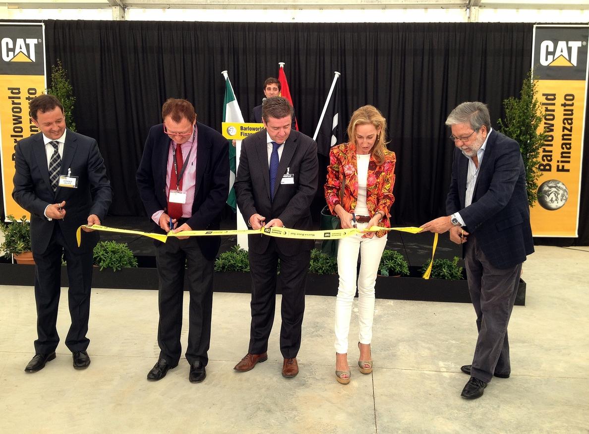 La distribuidora nacional de Caterpillar se consolida en Dos Hermanas con nuevas instalaciones