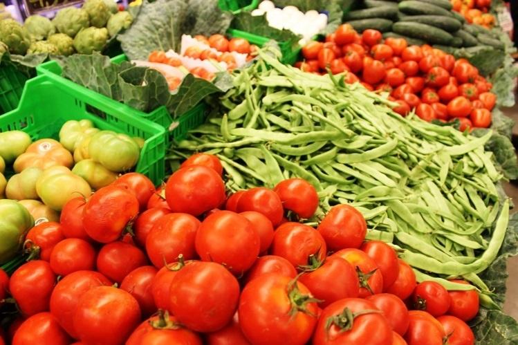 Los menús escolares aumentan la presencia de verduras, hortalizas y frutas