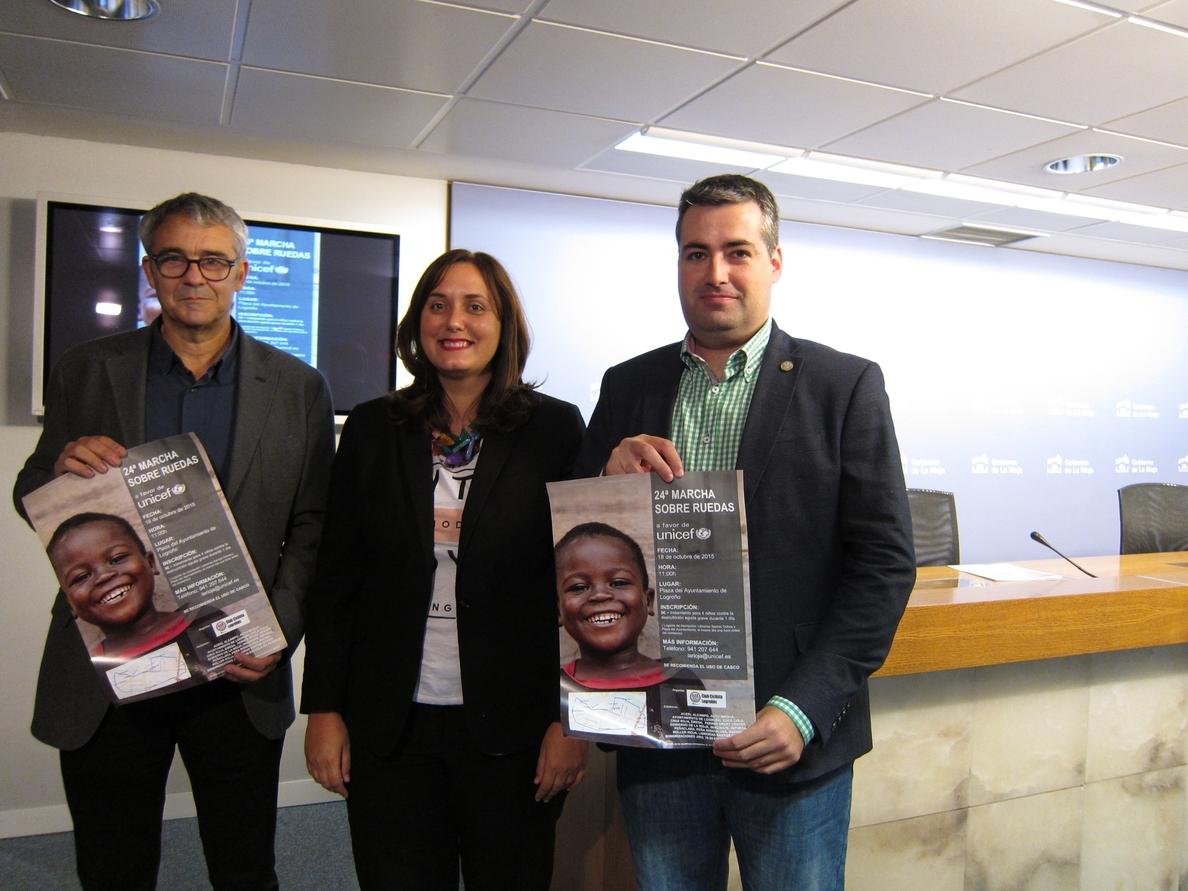 La 24ª marcha sobre ruedas de »UNICEF» recaudará fondos para destinarlos a la infancia