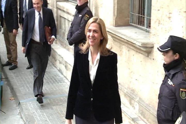 La semana que viene, sabremos cuando declararán la Infanta Cristina y el resto del caso Nóos