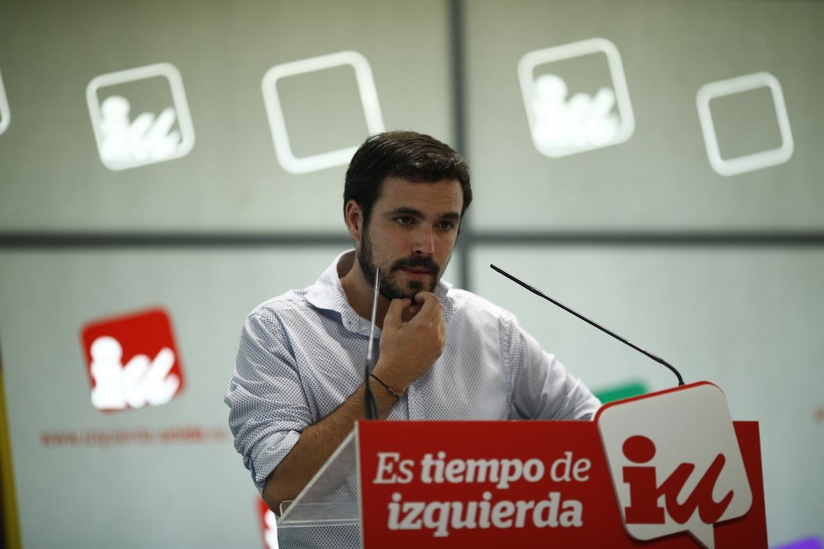 Alberto Garzón reconoce en un libro que infravaloró a Podemos y pensó que sería una oportunidad para refundar IU