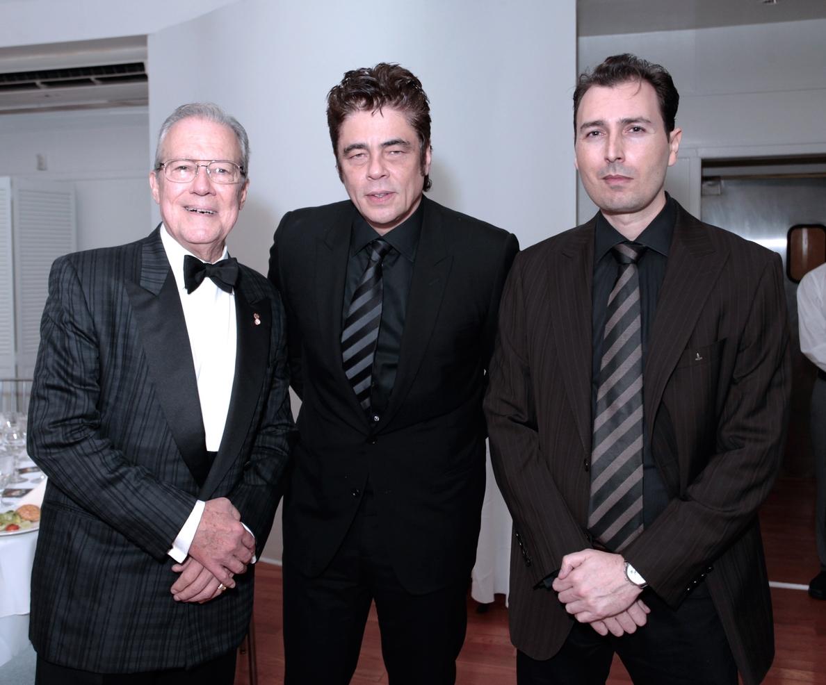 Benicio del Toro y Andy García, premiados por la Hispanic Organization of Latin Actors de Nueva York