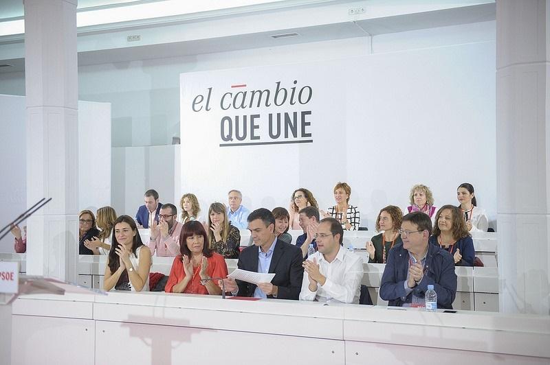 El Comité Federal del PSOE aprueba las listas al Congreso y el Senado