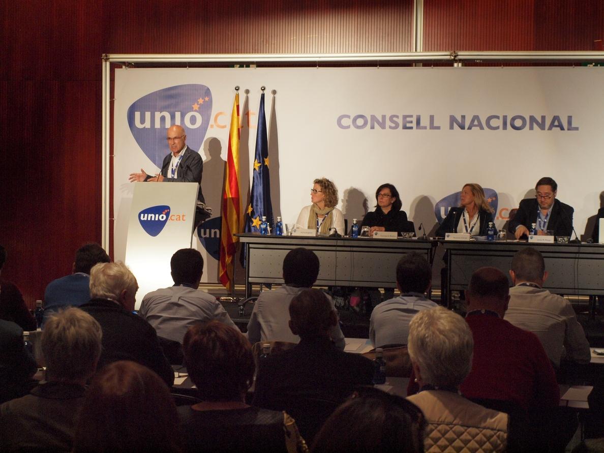 Duran i Lleida anuncia su candidatura a las generales: «Siento la obligación»
