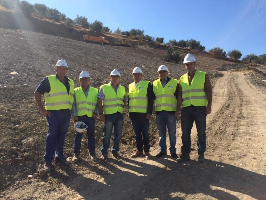 Junta destaca la inversión en sellar el vertedero de Castillo de Locubín, recuperando 7.900 metros cuadrados