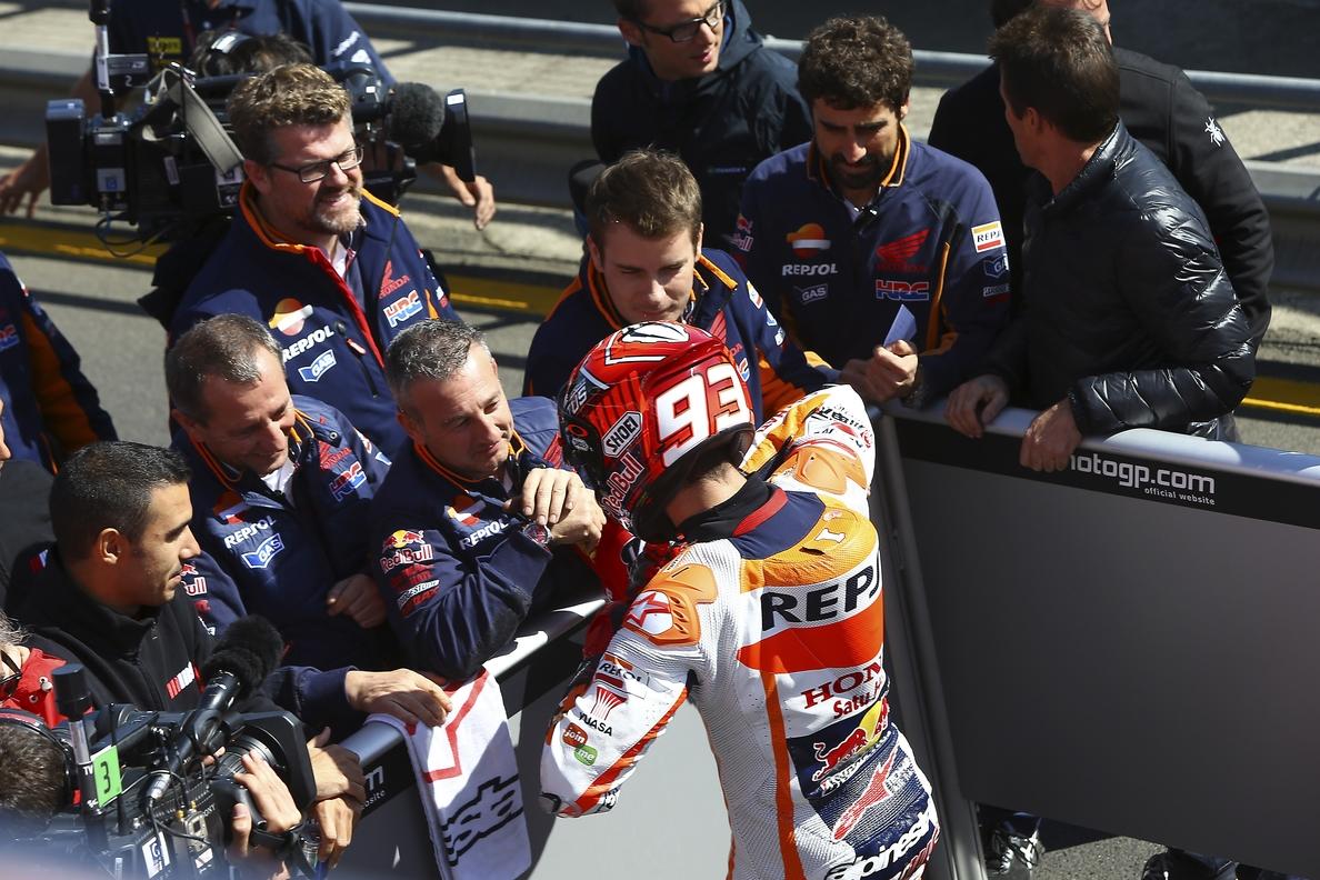 Marc Márquez: «Estamos preparados para luchar por el podio y por la victoria»