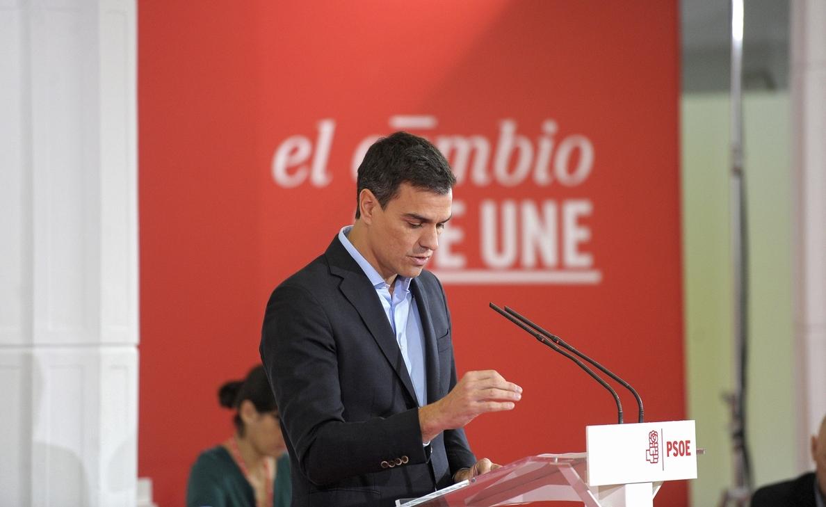 Pedro Sánchez ve al PP «agotado», «dividido» y sin proyecto y tacha a Rajoy de «fraude»