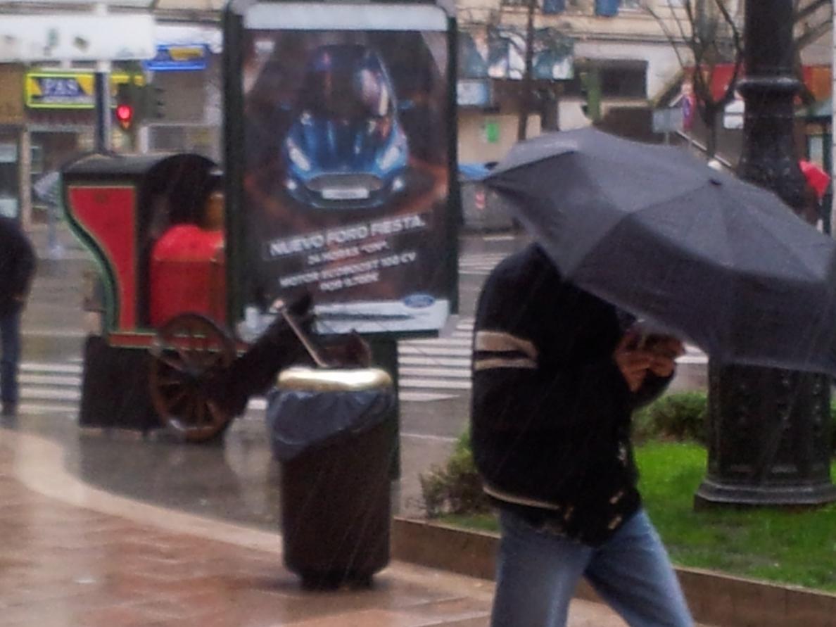 Protección Civil alerta de lluvias y viento fuerte en Ávila, Salamanca y Zamora
