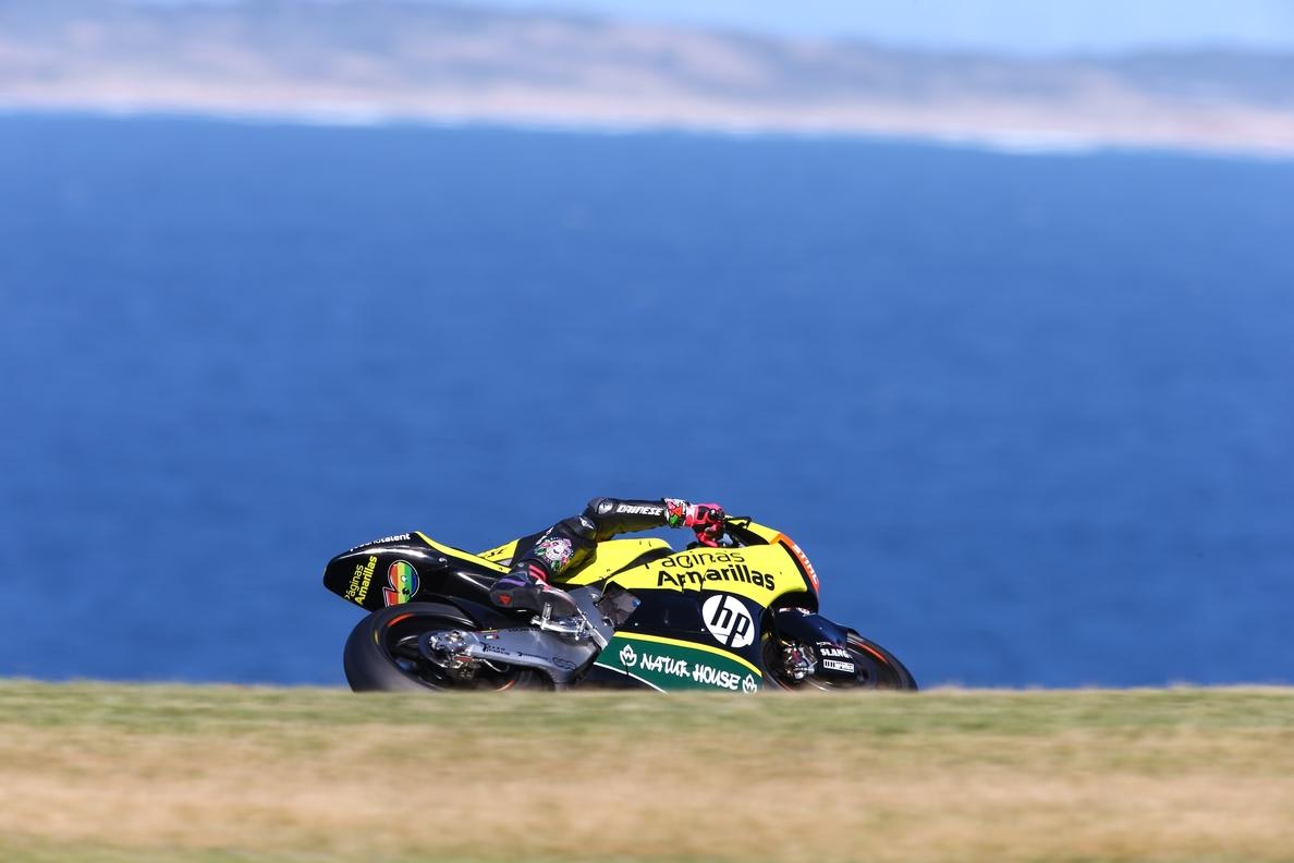 Rins domina y firma la pole en Moto2