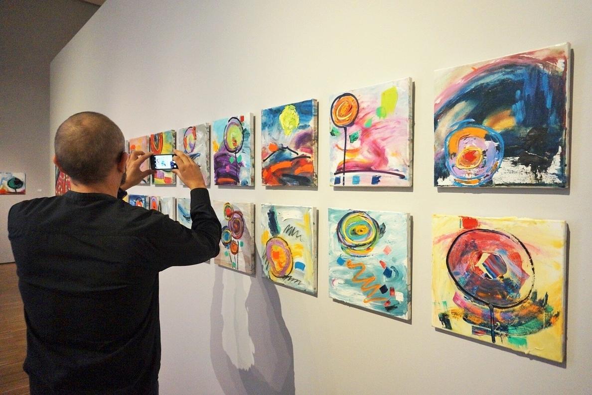 Última semana para realizar en el Mubam el »Viaje de ida y vuelta» del pintor murciano Juan Mariano Balibrea