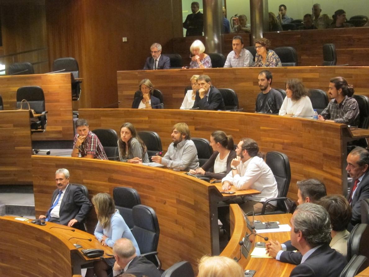 Los diputados de Podemos presentará esta semana proyectos financiados con donaciones de sus sueldos