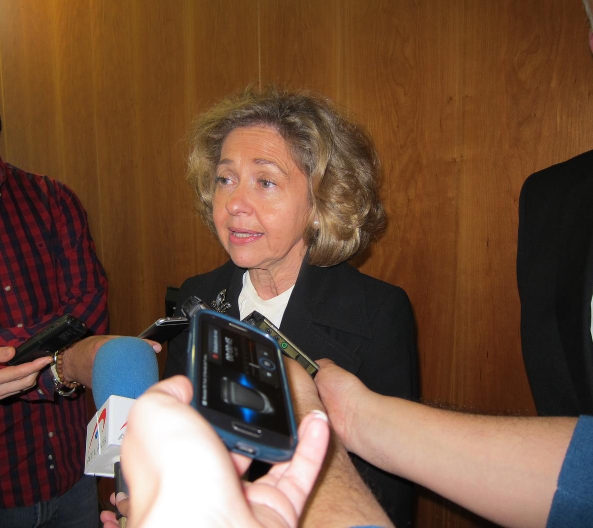La Fiscal General dice que ha estudiado todos los «escenarios» sobre Cataluña y que el de ruptura es «delictivo»