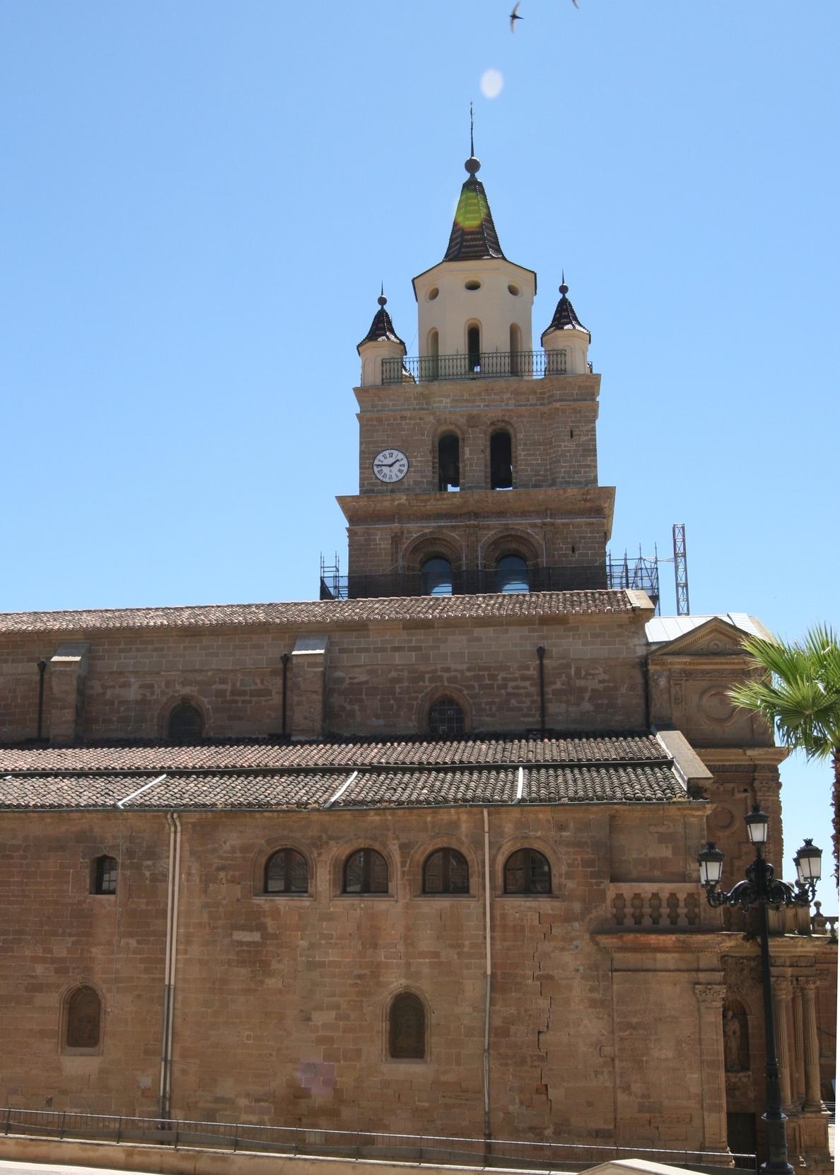 El Ministerio de Cultura invierte 344.000 euros en restaurar la Catedral de Calahorra
