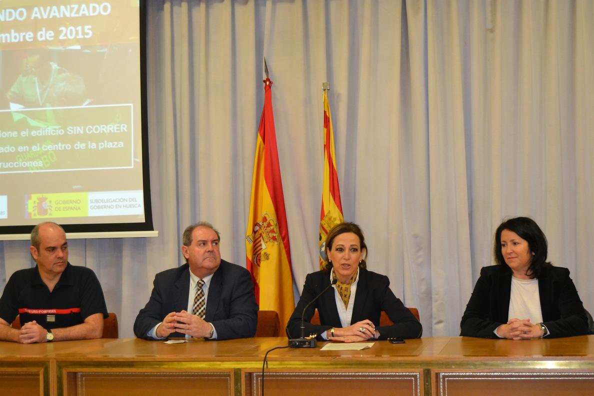 Huesca acoge un curso sobre la gestión de situaciones de emergencia