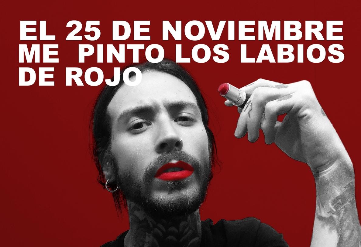 Lanzan este miércoles en Cartagena la campaña »Pintarse los labios de rojo» contra la violencia de género