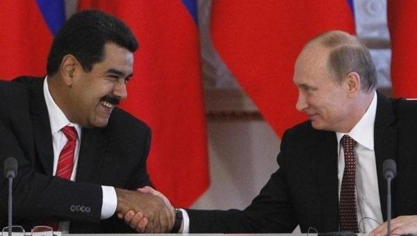 Maduro se reúne con Putin y Rohani para sellar su alianza estratégica