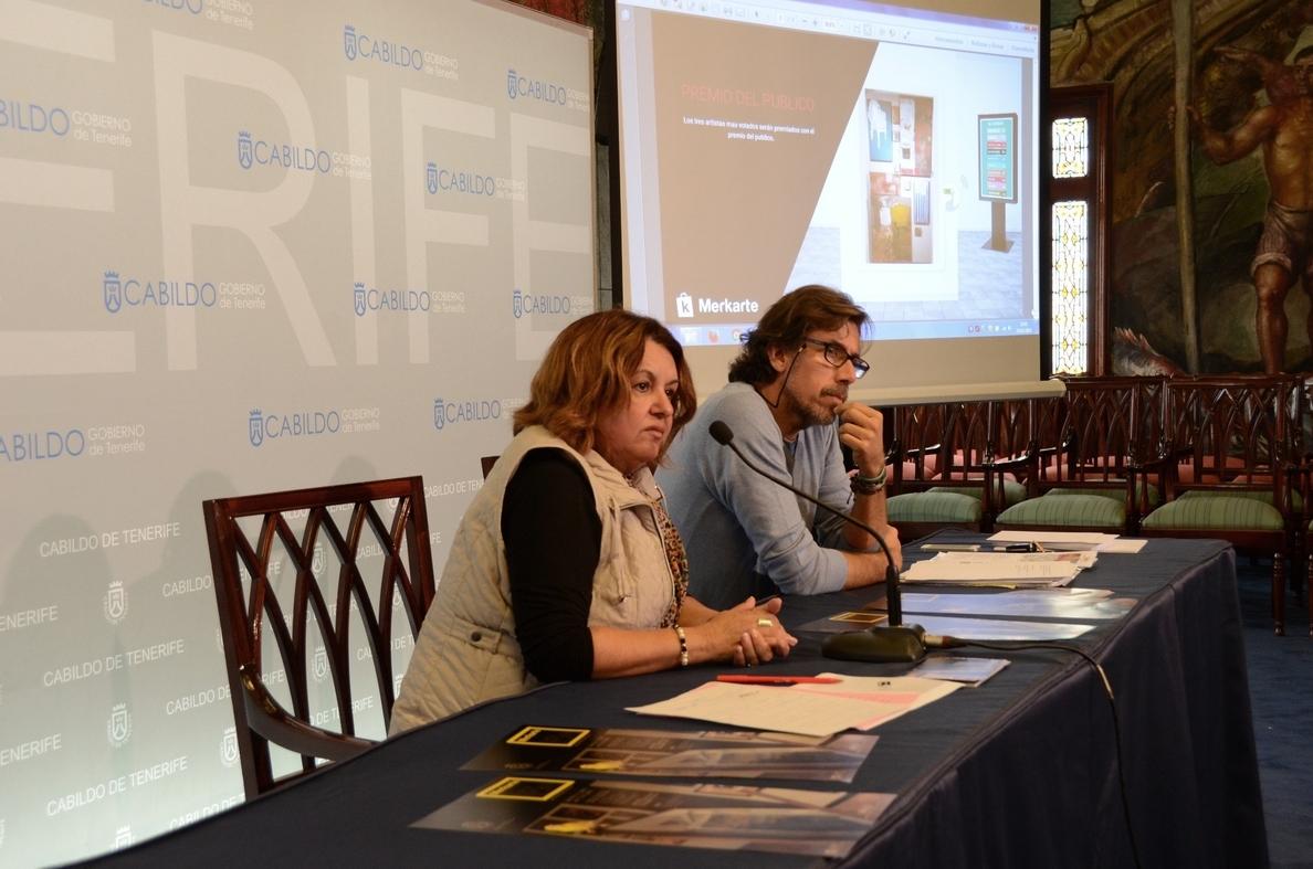 Merkarte da a conocer el trabajo creativo de 45 jóvenes artistas canarios