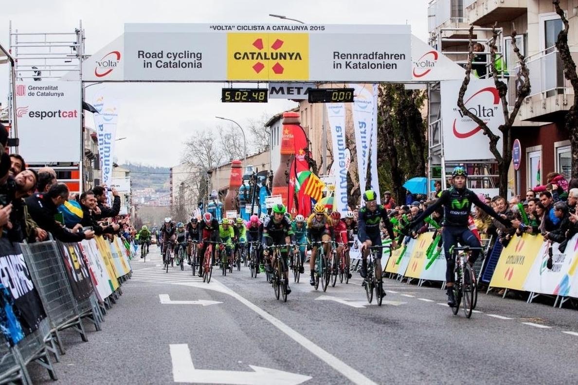 Olot repite como final de etapa en su octava presencia en la Volta a Catalunya