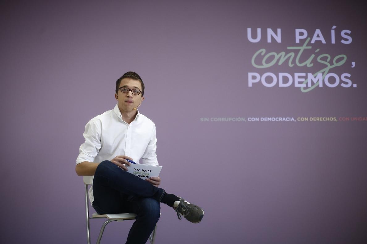 Podemos apela al «patriotismo» de la «España real» para convencer a los indecisos de que apuesten por el cambio