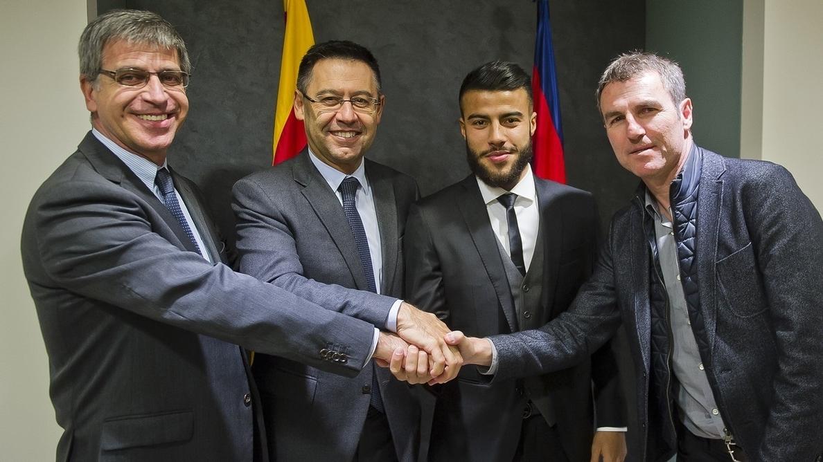 Rafinha firma hasta 2020: «El Barça es mi casa»