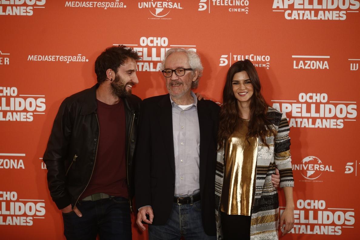 »Ocho apellidos catalanes» se cuela en el top mundial de películas más taquilleras