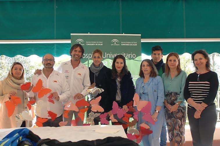 Unos 150 paneles de mariposas decorarán espacios en el Hospital Universitario Reina Sofía