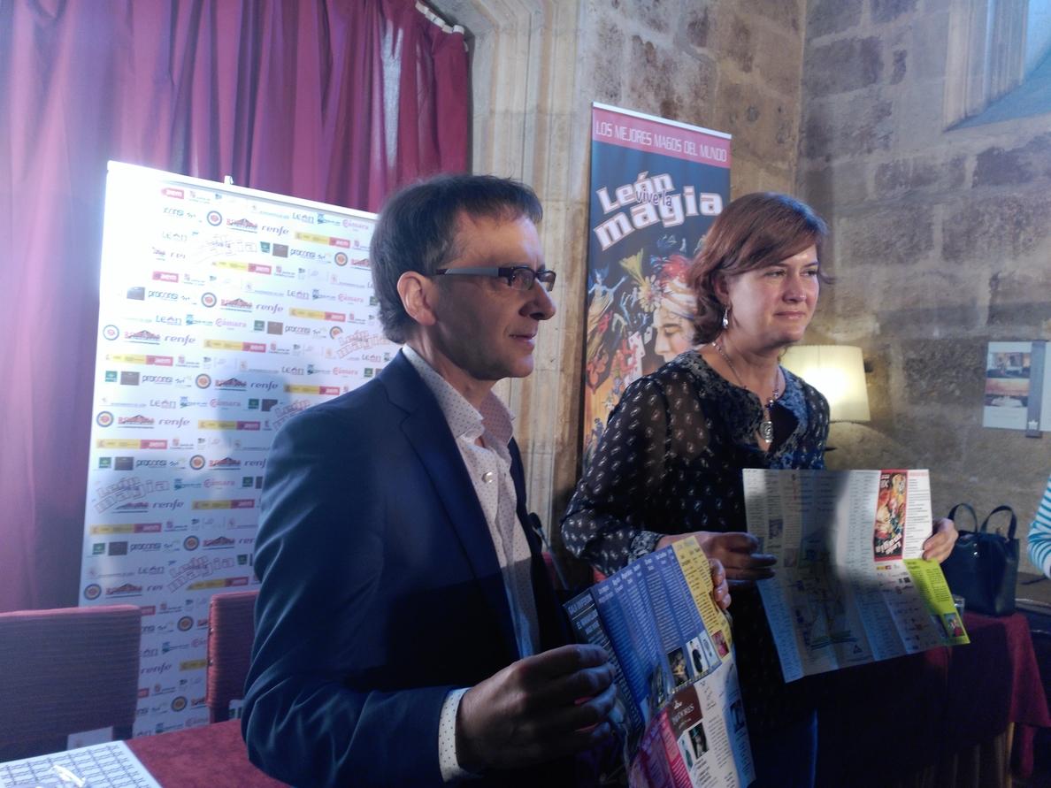El festival »León vive la magia» regresa del 25 al 30 de diciembre con galas y actuaciones en la calle