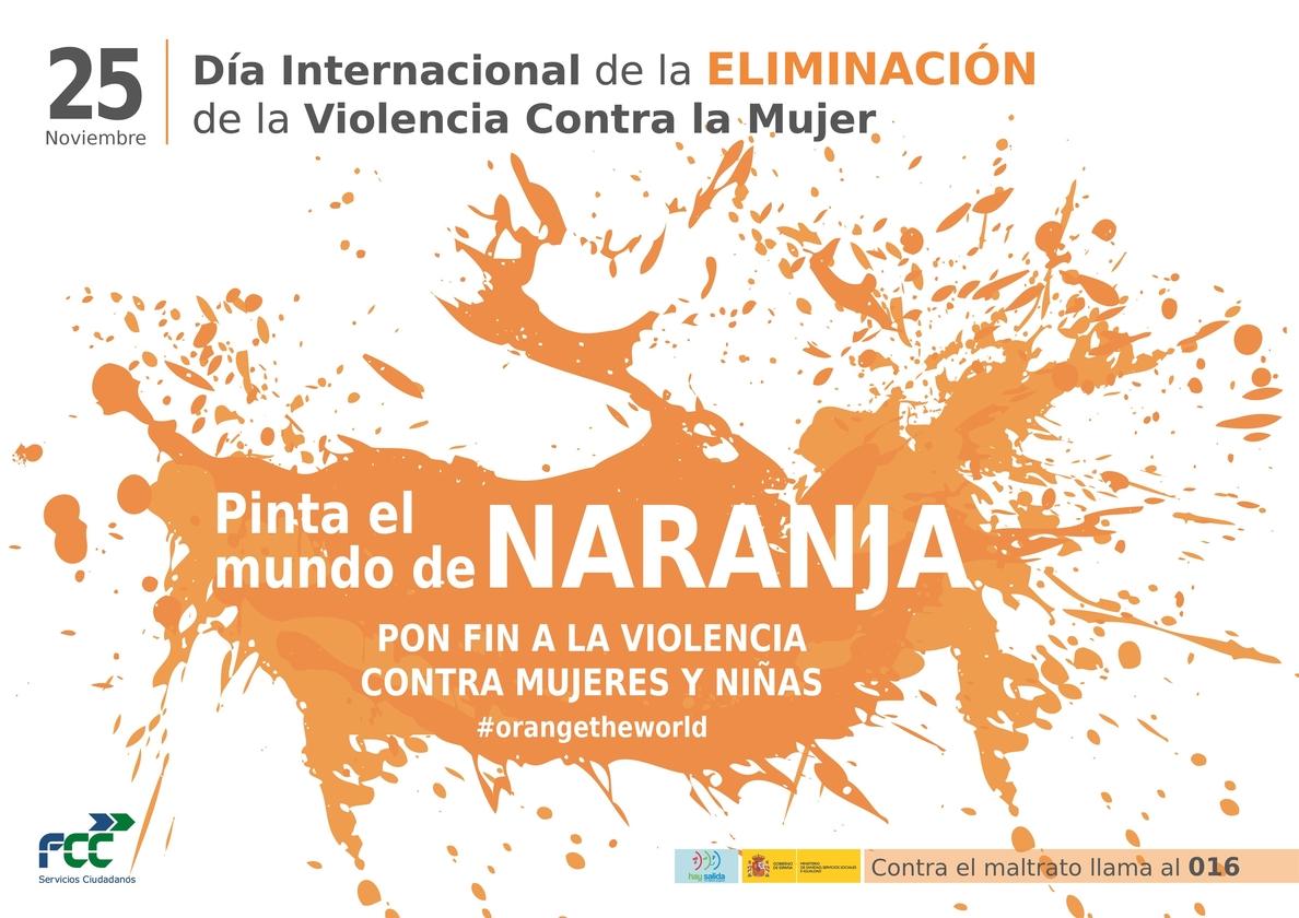 Arranca en todo el mundo la campaña de 16 días contra la violencia machista »De la paz en el hogar a la paz en el mundo»