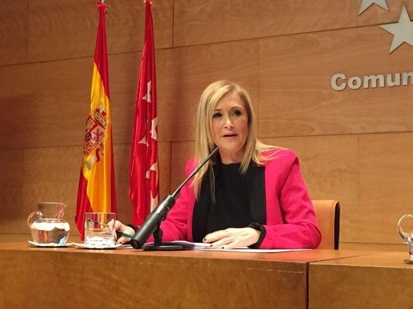 Cifuentes sobre Carmena: «Yo no me he arrepentido ni un solo día de haberme presentado y soy inmensamente feliz»