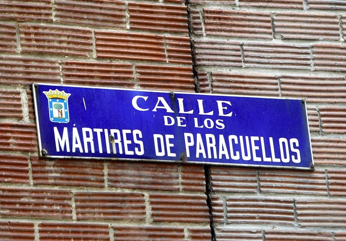 Demandan al Ayuntamiento de Madrid para que suprima las referencias al franquismo del callejero