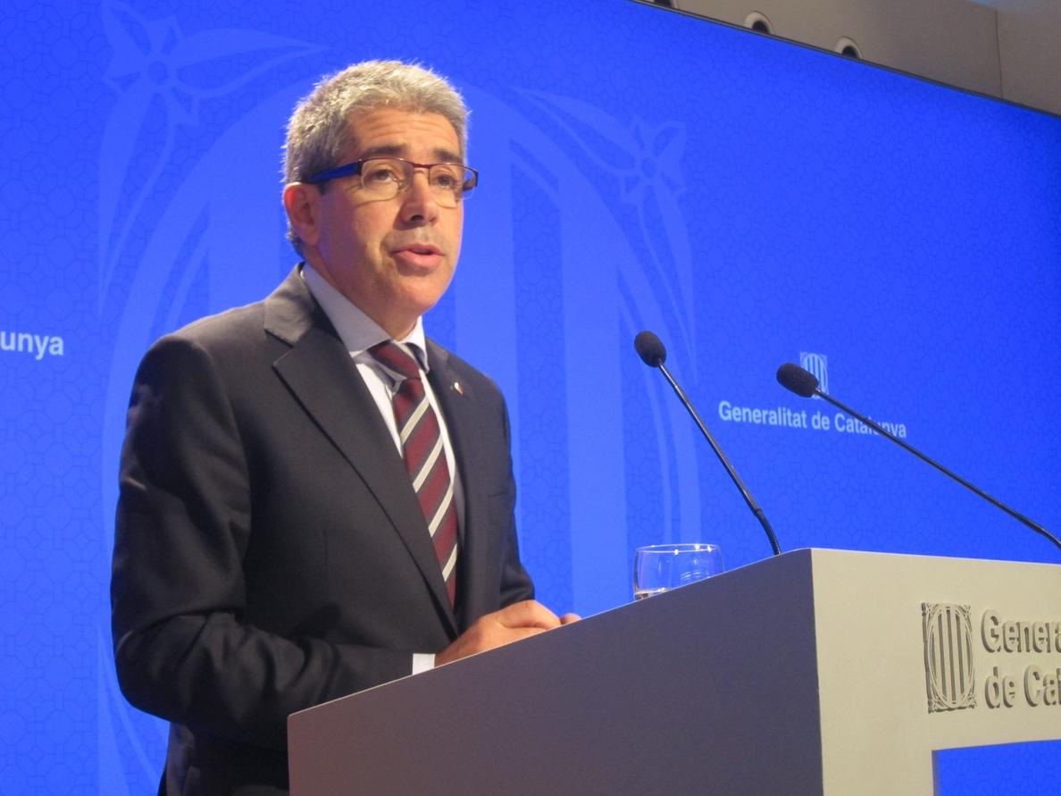 Homs quiere «débiles» a las fuerzas políticas del Estado y no a la CUP
